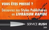 Stylos Publicitaires en Livraison Express